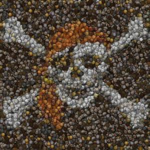 Artist Takes Mosaics To The Next Level With Candy, Coins, Even Baseballs